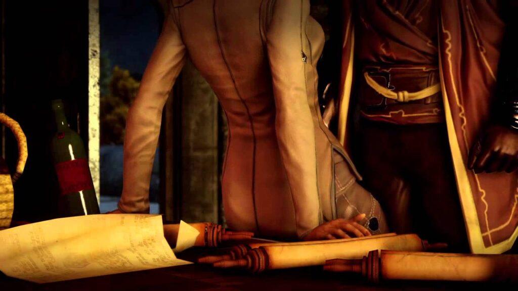 In Romanzen geht es auch immer zur Sache | Bild: EA / Bioware