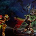 Metroidvania | Bilder: Metroid: Samus Returns / Nintendo & Castlevania Anniversary Collection / Konami
