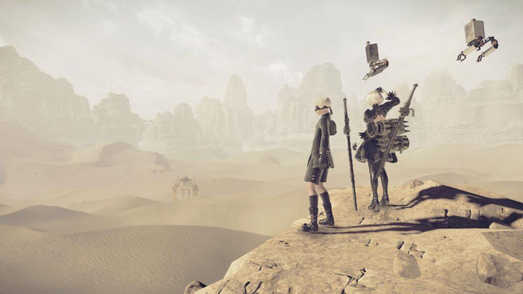 Nier Automata - Wüste
