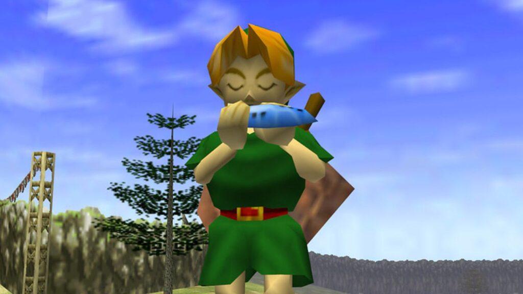 Vetraute Melodien aus der Ocarina. | Bild: Nintendo